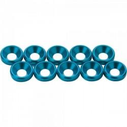 ANSMANN RACING 203000128 Arandela M4 cónica azul (10pcs)