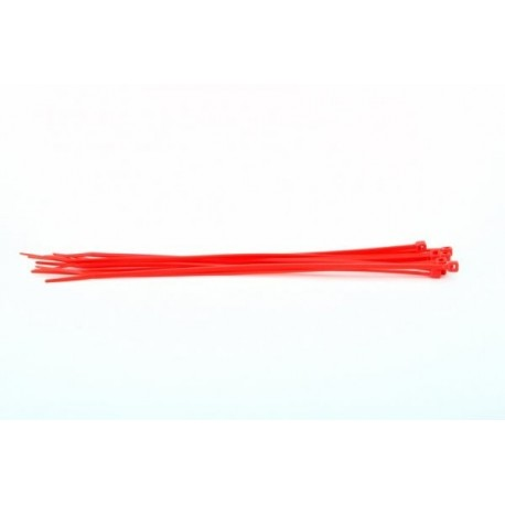 187000230 ANSMANN RACING Bridas Sujeccion 280x4.5x76 (10unds) Roja