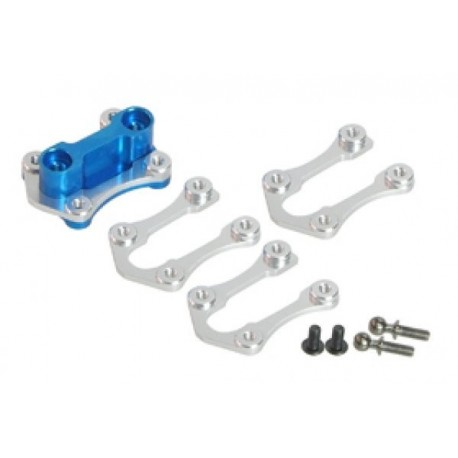 3 RACING F104-02/LB Camber Mount For 104