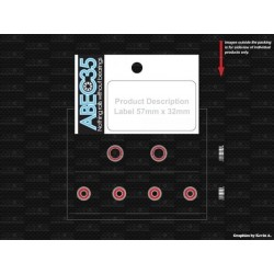 ABEC35 XR007  Xray X10, XII ball bearing set