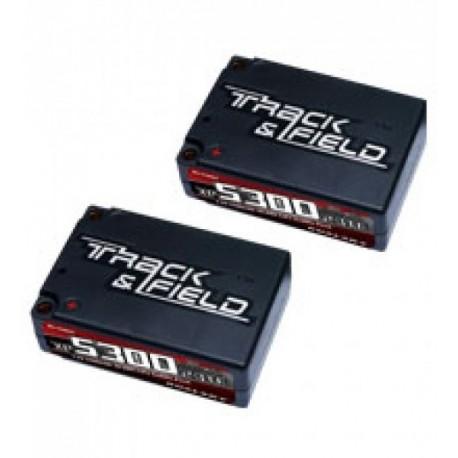 DUALSKY 33864 XP530023TF SADDLE PACK BATTERY 7.4v 70c