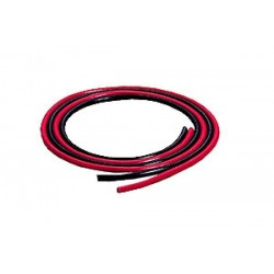 GRAUPNER 3683 HIGH FLEX SILICONE WIRE 2X50CM ROJO,NEGRO 2.5MM