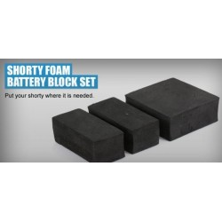 REVOLUTION DESIGN SHORTY FOAM BATTERY BLOCK SET - RDRP0053
