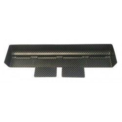 RI-27020 RIDE High Downforce Rear Wing pre Cut CARBON Color