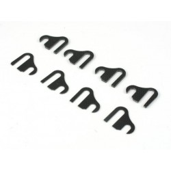 ROC-BD7-05 Roche BD/ Center Suspension Mount Adjust Shim Set, 0,5mm & 1,0mm x4each