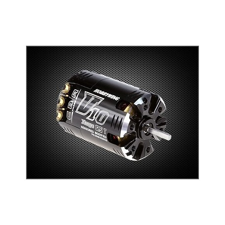 HOBBYWING 30401020042 XerunV10 4.5T  Black