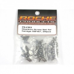ROCHE ROC-TS-CB3 Titanium Screw Set for Tamiya 417