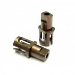 ROCHE ROC-XRT4-02 Heavy Duty Spool Cups for Xray T3/T4 (Spring Steel) 2pcs