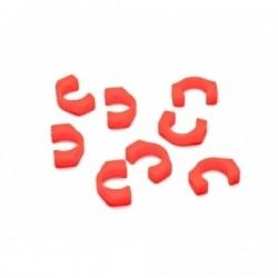 ROCHE ROC- XRT4-10 MR..Roche Series - 3.5mm POM C-Blade for Xray T4/T3, 8 pcs Blades Orange