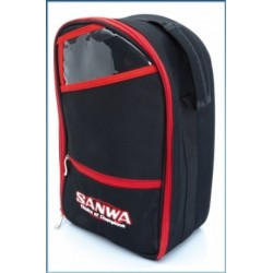 Sanwa Transmitter Carrying Bag 2 (black/red)