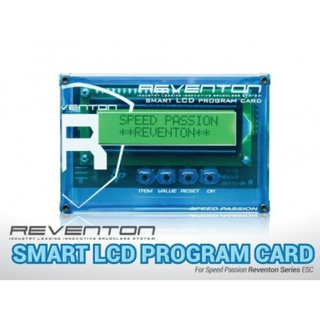 SPEED PASION Sp000056 Reventon Smart LCD Program Card