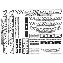 YOKOMO ZC- BD51 BD5 DECAL