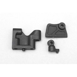Plastic servo mountBelt tensionerBattery guide