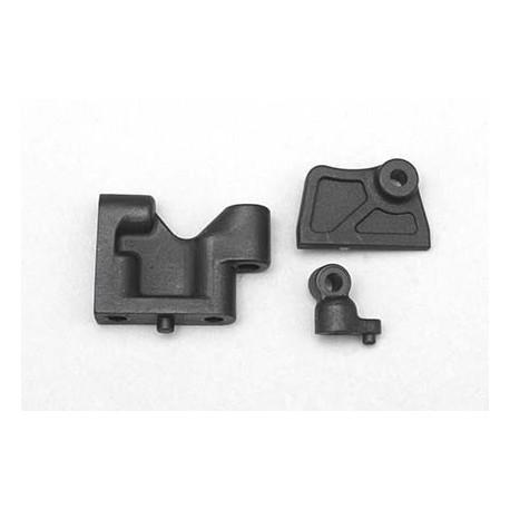 YOKOMO B7- 20314 BD7 Plastic servo mountBelt tensionerBattery guide