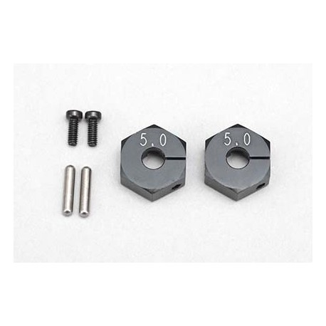 YOKOMO BD- 011CB Clump Wheel Hub (5.0mm?Black)