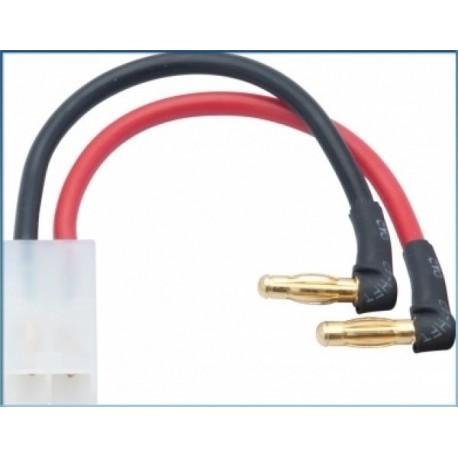 LRP 65838 Cable adaptador 4mm a Tamiya