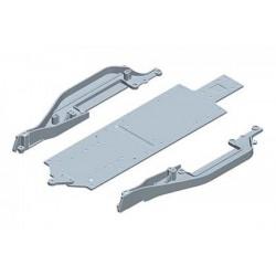 YOKOMO B2- 002MRA Aluminum main chassis for B-MAX2MR/RS