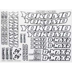 YOKOMO ZC- BM-2 B-MAX2 Decal
