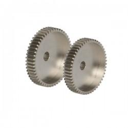Pinon motor modulo 64 40D Aluminio