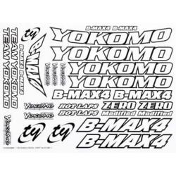 YOKOMO ZC-BM-1 B-MAX4 Decal