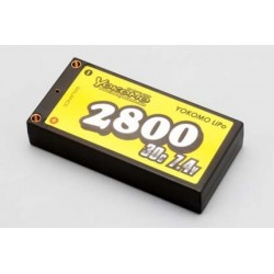 YOKOMO YB-P228BE Lipo 2800mAh/7.4V Battery