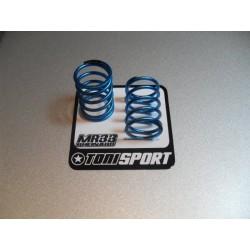 3 RACING 3RAC-N30/SI 3mm Aluminium Leck nuts silver (10pcs)
