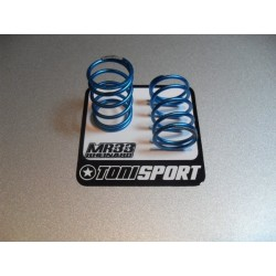 MR33-Blue Spring S Ride Blue Spring Silver Soft, soft pro matched, (2pcs), MOQ 10