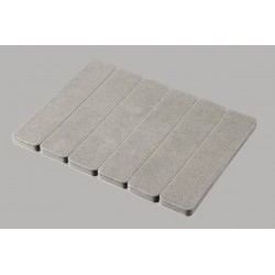 MR33-Foam MR33 Foam for Bumper 6 pcs 70 x 15 mm
