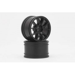 YOKOMO GT-29E2 ENKEI-2 Front Wheel for GT series(Black 2pcs)