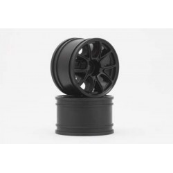 YOKOMO GT-30E2 ENKEI-2 Rear Wheel for GT series (Black 2pcs)