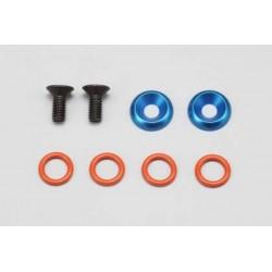 YOKOMO R12-20SM Rear Bulk Head Shaft Maintenance Kit for YOKOMO GT500