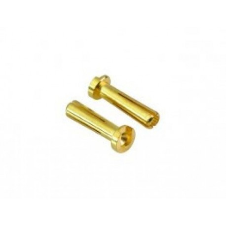 MM-CE-LLM Muchmore Low Height Euro Connector (Large Long 4mm) Male 2pcs.