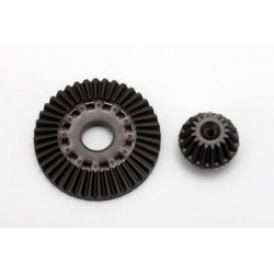 YOKOMO SD-503 Differential Ring Gear/Drive Gear Set (Graphite) RF CONCEPT
