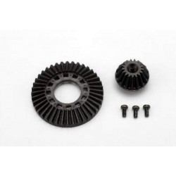 YOKOMO SD-643 Ring Gear / Drive Gear Set(for Front One-Way / Solid Axle)