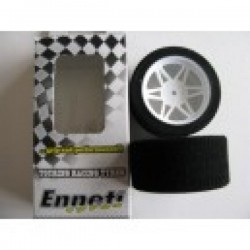 ENNETI  S2FW35 Rueda Touring 1/10 Front 26mm Shore 35