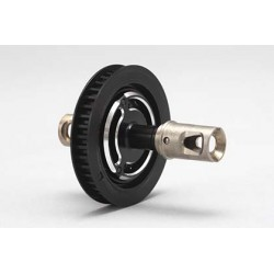 B7-501S Aluminum Solid Axle (Black)