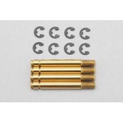 YOKOMO B7- S5ST Shock shaft for SLF short shock (Titanium coat/4pcs)