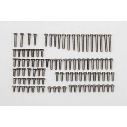 Titanium 3mm screw set (96pcs)