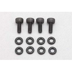 """X"""" Ver. II shock Aluminum cap drain screw/O ring"""""