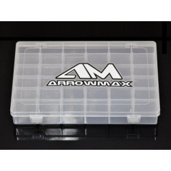 Arrowmax 21-Compartment Parts Box (196 x 132 x 41mm)
