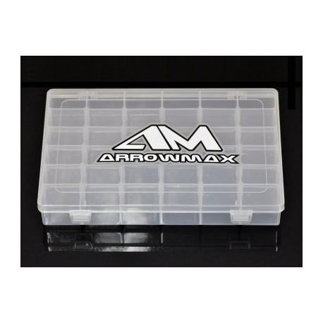 Arrowmax 21-Compartment Parts Box (196 x 132 x 41mm)