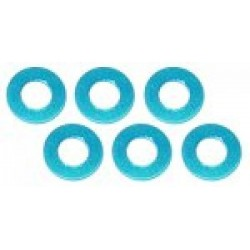 MM-MW3-20B Muchmore Aluminium Adjust Spacer 3,0 x 2,0 mm, Blue