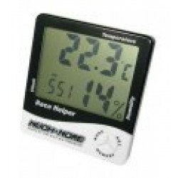 MR-RH3K MUCH MORE Race Helper , Clock Temperature Humidity, Black