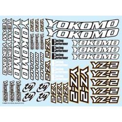 YOKOMO ZC-YZ-2 YZ-2 Decal