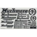 Muchmore ISTC MR Logo Decal Black  White Background Standard