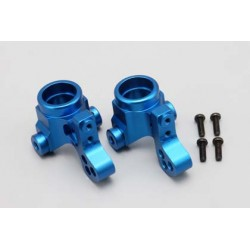 YOKOMO TS- 2123 Aluminum Steering Block for Real Caliper (Blue)