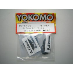 YOKOMO ZC- S100S Stainless Spacer Simm 10.0mm