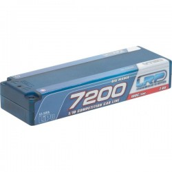 LRP 430200 LiPo 1/10 Competition Car Line Hardcase 7200 - Big Mama - 100C/50C - 7.4V