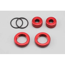 YOKOMO BR- S4C O-Ring Cap Adjust Nut for DRB/BD5 (Red)