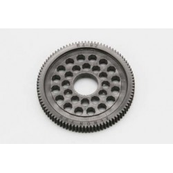 YOKOMO R12- 6493 64Pitch Precision Spur Gear for YOKOMO R12(Black) 93T